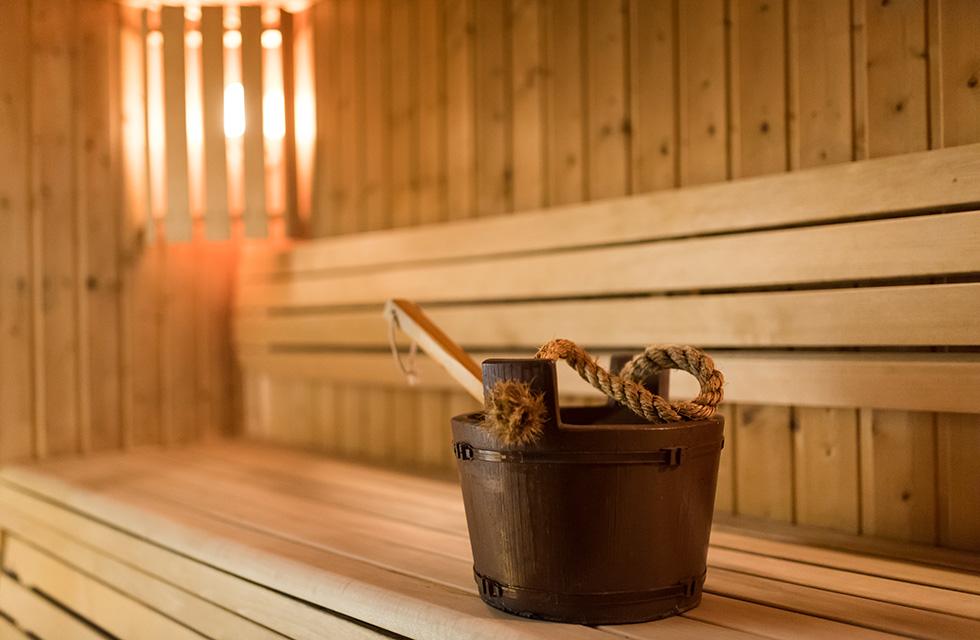 Le sauna - Hôtel Club Ker Beuz