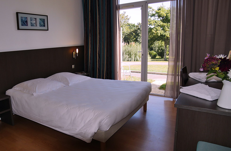 Les chambres - Hôtel Club Ker Beuz